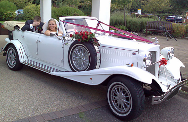 Beauford Tourer Wedding Car
