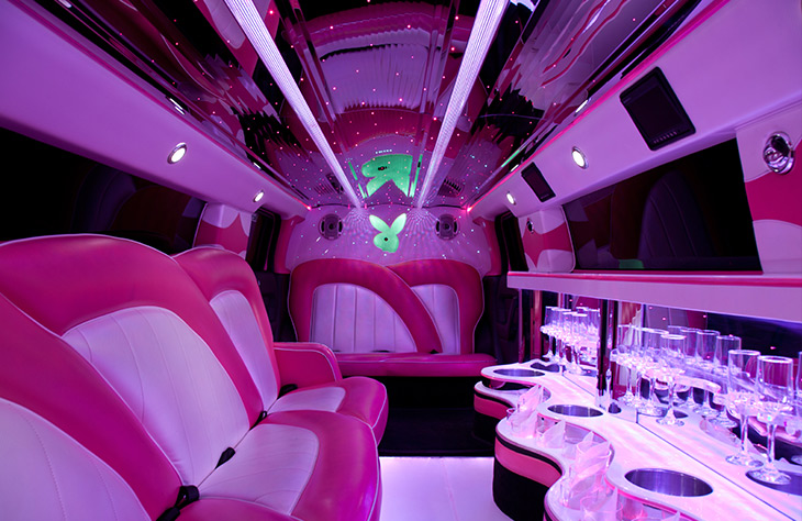 easy to find Hen Party Bus