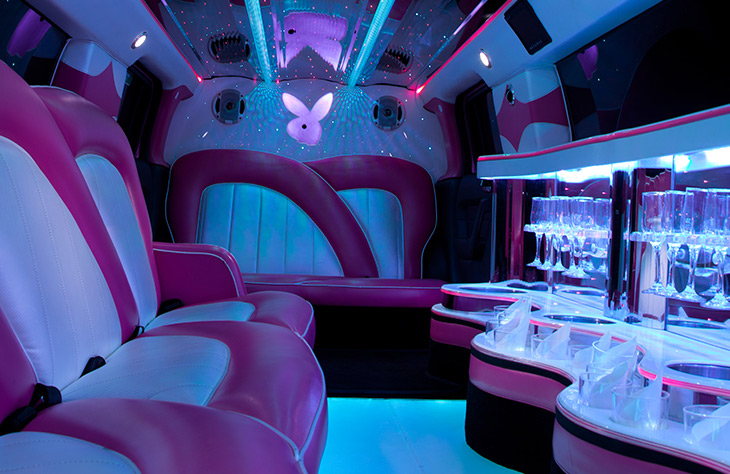 easy to find Pink Prom Cars - Prom Transport